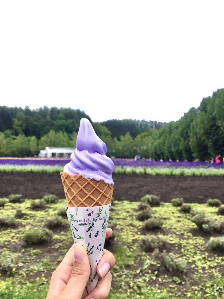 富田農場薰衣草冰淇淋