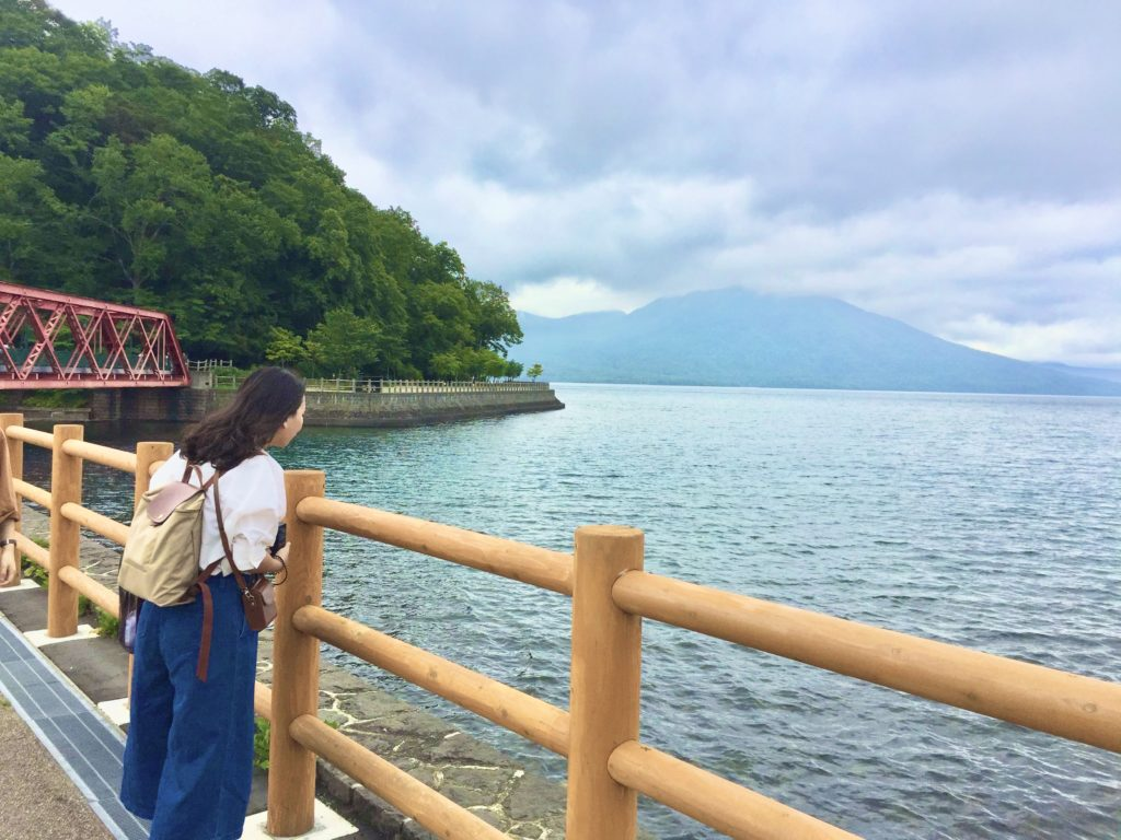 北海道支芴湖